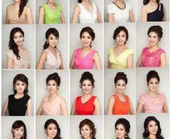 韓國小姐選美撞臉
